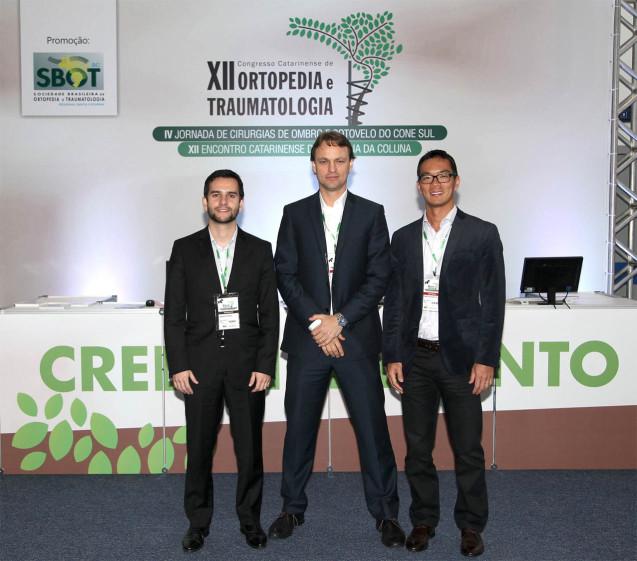 Grupo de Ombro no Congresso Catarinense de Ortopedia e Traumatologia