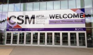 Evento Associação Americana de Fisioterapia (APTA)