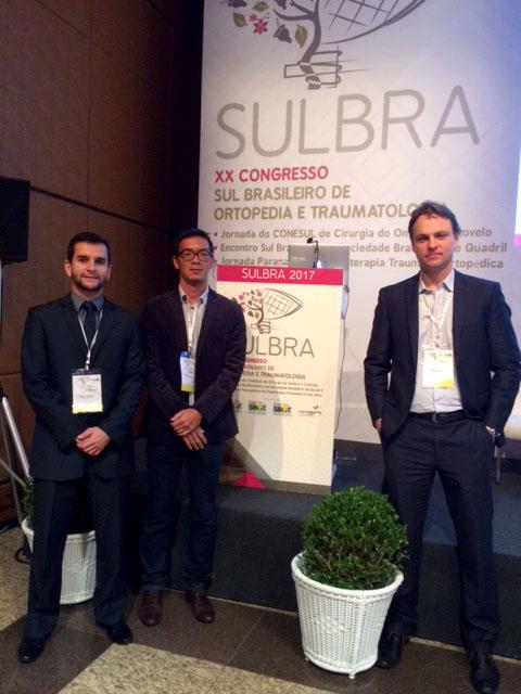 Grupo de Ombro no XX Congresso Sul Brasileiro de Ortopedia