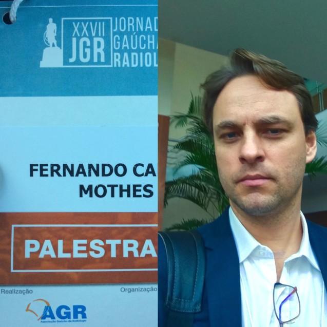 Dr Fernando Mothes na XXVII Jornada Gaúcha de Radiologia