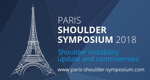 Dr Fábio Matsumoto no Paris Shoulder Symposium